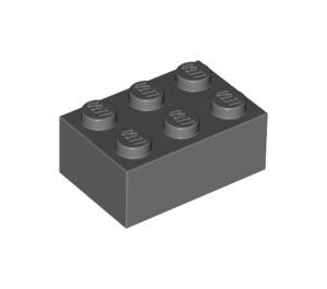 LEGO Dark Stone Gray Brick 2 x 3 (3002)