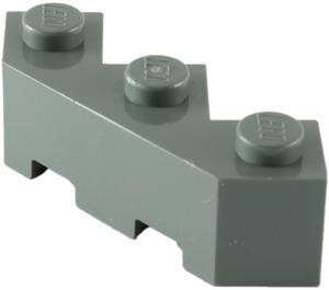 LEGO Dark Stone Gray Brick 3 x 3 Facet (2462)