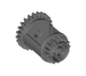 LEGO Dark Stone Gray Differential Gear Casing (6573)