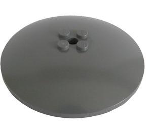 LEGO Dark Stone Gray Dish 8 x 8 Inverted (3961)