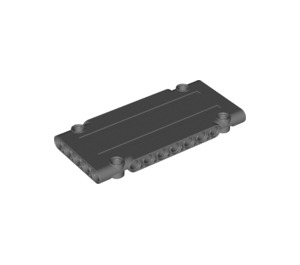 LEGO Dark Stone Gray Flat Panel 5 x 11 (64782)
