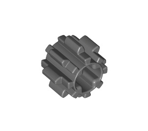 LEGO Dark Stone Gray Gear with 8 Teeth Type 2 (10928)
