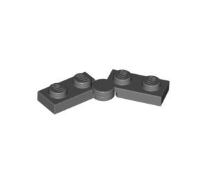 LEGO Dark Stone Gray Hinge Plate 1 x 4 (19954 / 73983)