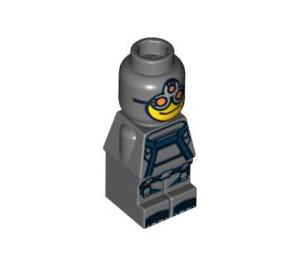 LEGO Dark Stone Gray Magma Monster Microfigure
