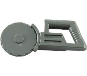 LEGO Dark Stone Gray Minifig Circular Blade Saw (30194)