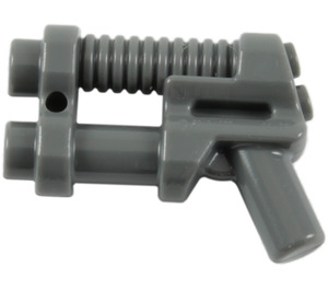 LEGO Dark Stone Gray Minifig Space Gun with Ribbed Barrel (95199)