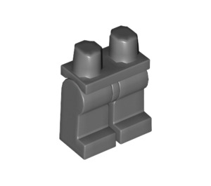 LEGO Dark Stone Gray Minifigure Hips and Legs (73200 / 88584)