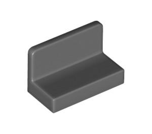 LEGO Dark Stone Gray Panel 1 x 2 x 1 with Rounded Corners (4865 / 26169)