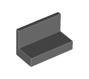 LEGO Dark Stone Gray Panel 1 x 2 x 1 without Rounded Corners (4865)