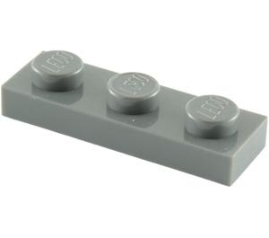 LEGO Dark Stone Gray Plate 1 x 3 (3623)