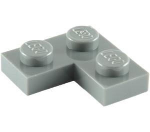 LEGO Dark Stone Gray Plate 2 x 2 Corner (2420)