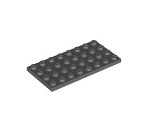LEGO Dark Stone Gray Plate 4 x 8 (3035)