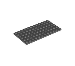 LEGO Dark Stone Gray Plate 6 x 12 (3028)