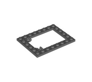 LEGO Plate 6 x 8 Trap Door Frame (92107)