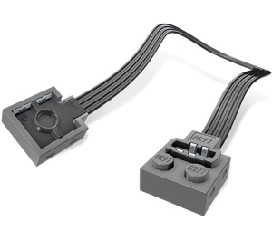 LEGO Dark Stone Gray Power Functions Extension Wire 20cm (21669 / 60656)