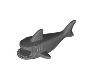 LEGO Dark Stone Gray Shark Body with Gills (14518)