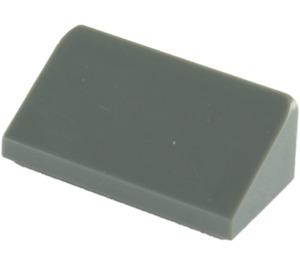 LEGO Dark Stone Gray Slope 1 x 2 (31°) (85984)