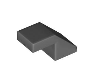 LEGO Dark Stone Gray Slope 1 x 2° 45 (28192)
