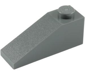 LEGO Dark Stone Gray Slope 1 x 3 (25°) (4286)