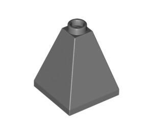 LEGO Dark Stone Gray Slope 2 x 2 x 2 (75°) Quadruple (3688)