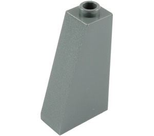 LEGO Dark Stone Gray Slope 75 2 x 1 x 3 with Hollow Stud (4460)