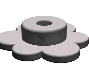 LEGO Dark Stone Gray Small Flower