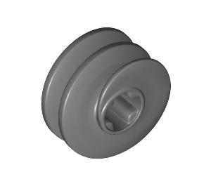 LEGO Dark Stone Gray Small Worm Gear for Angled Gear (27938)