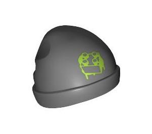LEGO Dark Stone Gray Street Skater Minifigure Stocking Cap / Beanie (95113)
