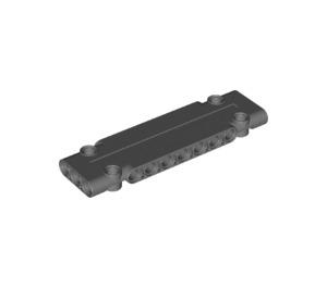 LEGO Dark Stone Gray Technic Flat Panel 3 x 11 (15458)
