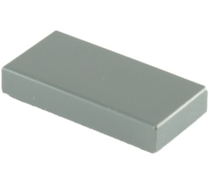 LEGO Dark Stone Gray Tile 1 x 2 with Groove (3069)