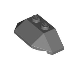 LEGO Dark Stone Gray Wedge 2 x 4 Triple (47759)