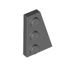 LEGO Dark Stone Gray Wing 2 x 3 Right (43722)