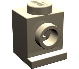 LEGO Dark Tan Brick 1 x 1 with Headlight and No Slot