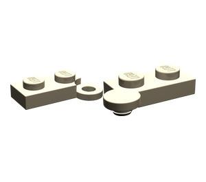 LEGO Dark Tan Hinge Plate 1 x 4