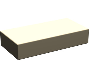 LEGO Dark Tan Tile 1 x 2 without Groove (3069)