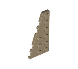 LEGO Dark Tan Wing 3 x 6 Left (54384)
