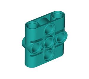 LEGO Dark Turquoise Connector Beam 1 x 3 x 3 (39793)