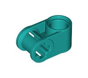 LEGO Dark Turquoise Cross Block 90° 1 x 2 (Axle/Pin) (6536)