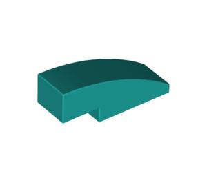 LEGO Dark Turquoise Slope 1 x 3 Curved (50950)