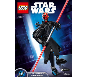 LEGO Darth Maul Set 75537 Instructions