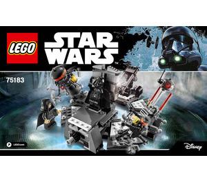 LEGO Darth Vader Transformation  Set 75183 Instructions