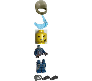 LEGO Dash, Alpha Team Diving Outfit Minifigure