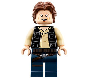 LEGO Death Star Han Solo Minifigure