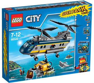 LEGO Deep Sea Explorers Super Pack 4-in-1 Set 66522