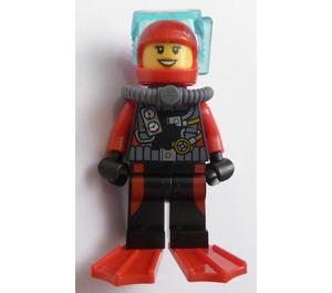 LEGO Deep Sea Female Diver Minifigure