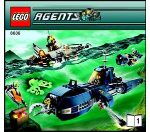 LEGO Deep Sea Quest Set 8636 Instructions