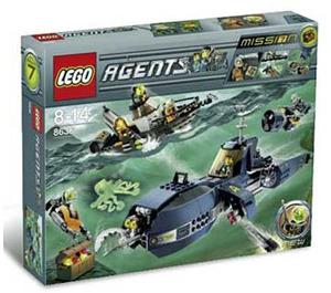 LEGO Deep Sea Quest Set 8636 Packaging