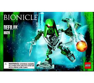 LEGO Defilak Set 8929 Instructions
