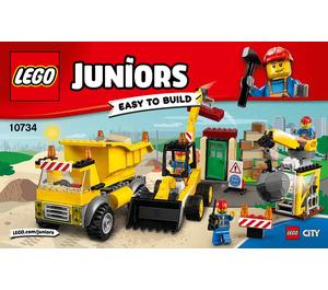 LEGO Demolition Site Set 10734 Instructions