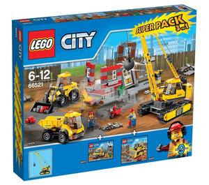 LEGO Demolition Super Pack Set 66521